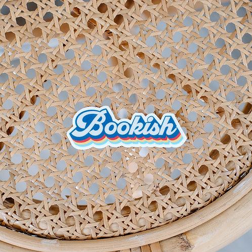 Bookish Sticker