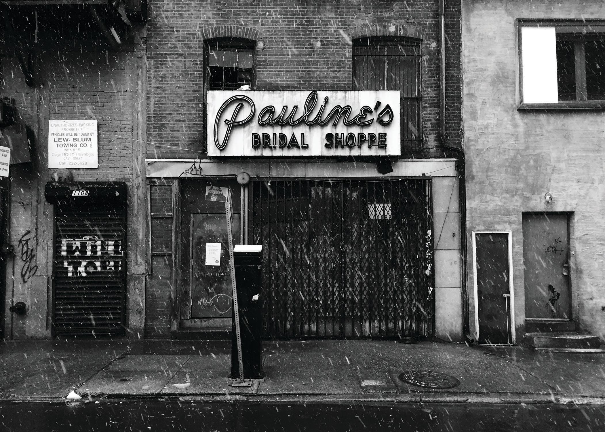 Pauline's Bridal Shoppe_BW