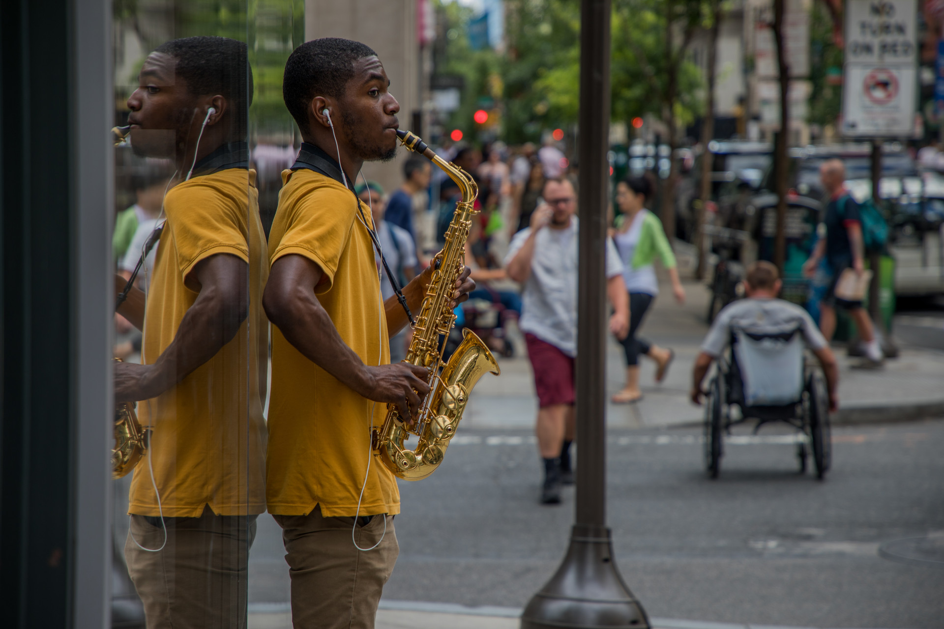 Elijah: Saxophonist, College Student