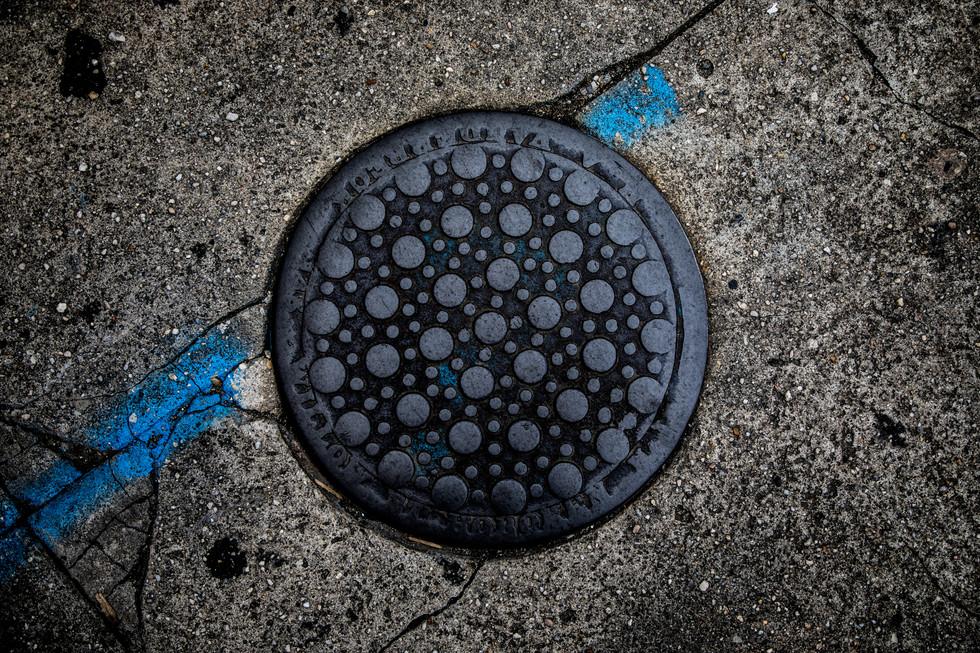 Washinton Street Sewer Cap