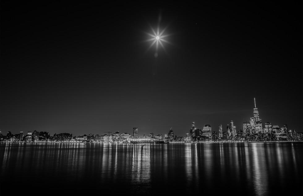 New York City - Blood Moon