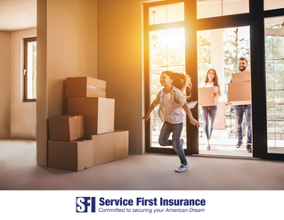 Protect your New Home Purchase with Service First Insurance!