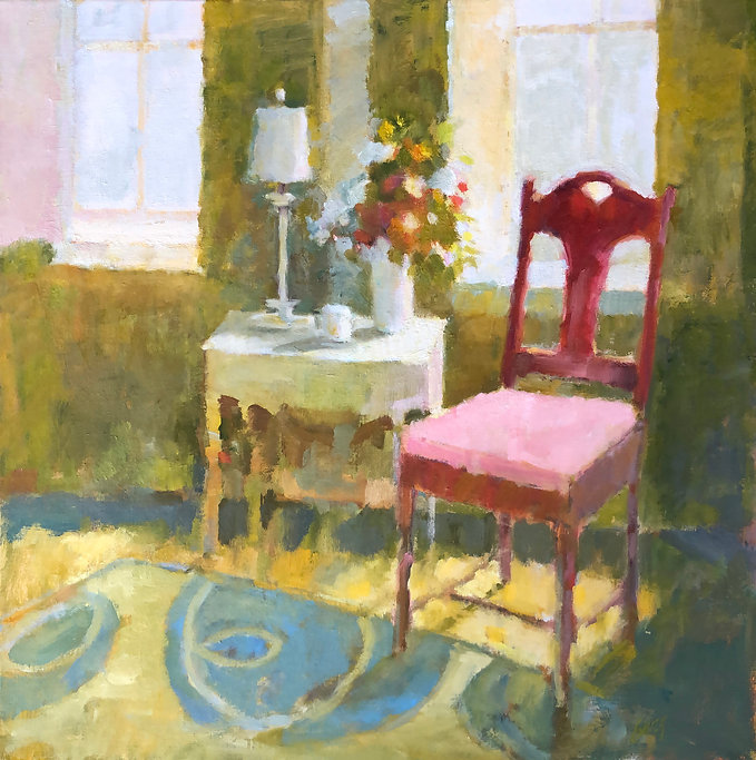 Red Chair by Gail Gang