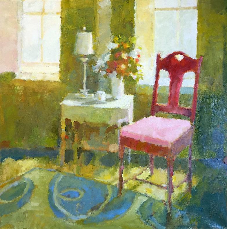 Red Chair Gail Gang Studio
