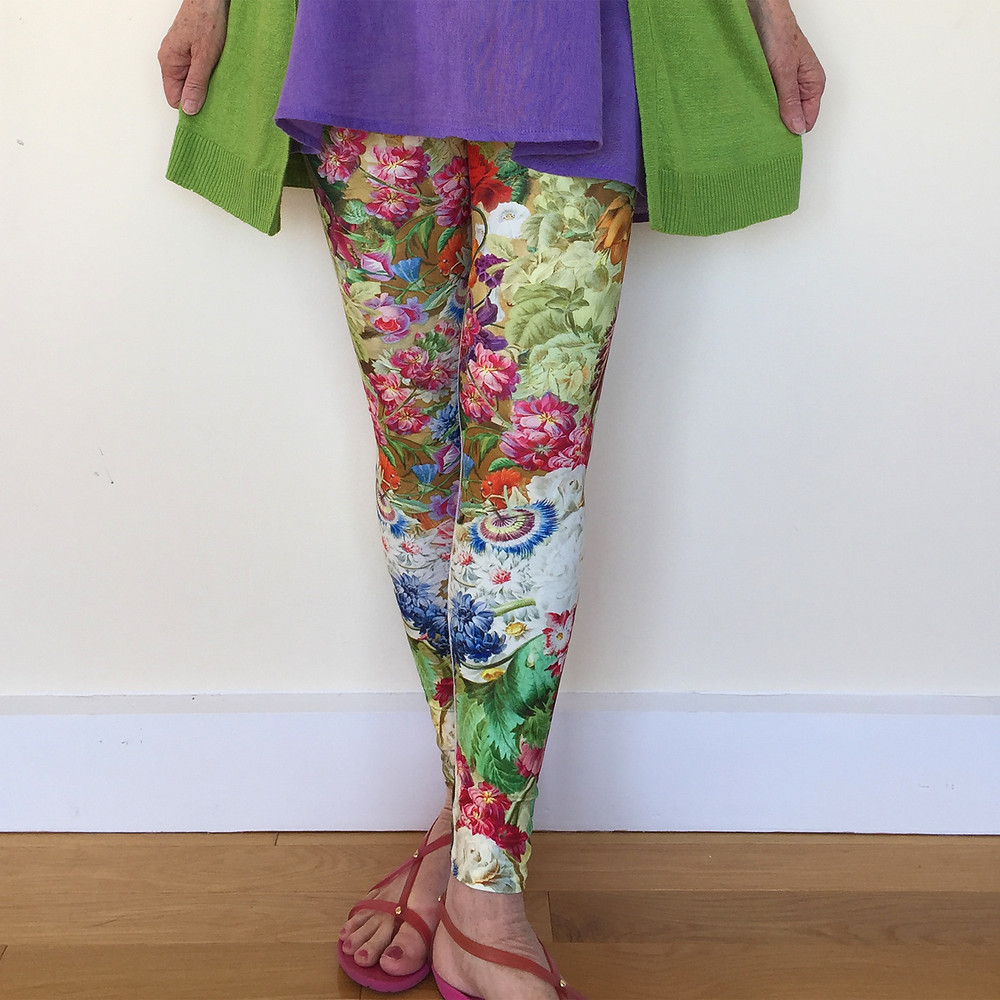 Person wearing Rose and Gaia leggings