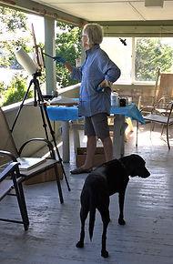Gail and Studio Assistant Rosie.jpg