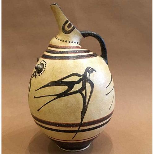 Minoan prochous with swallows