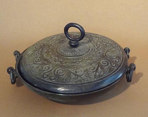 bronze lidded dish