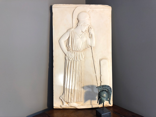 relief panel of Pensive Athena