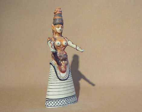 Minoan snake goddess B (medium)
