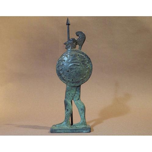 bronze hoplite warrior