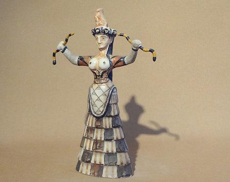 Minoan snake goddess A (medium)