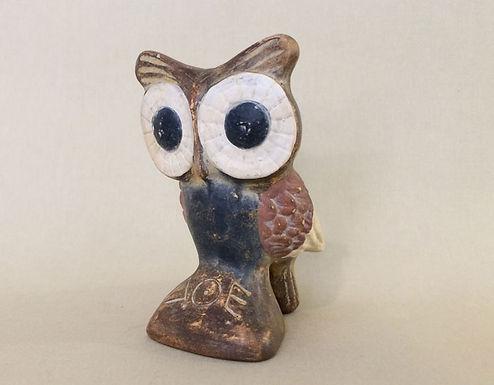 cheeky terracotta owl!