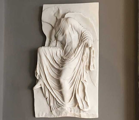 marble relief of Akropolis Nike