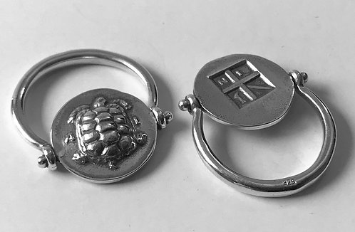turtle coin rotating ring