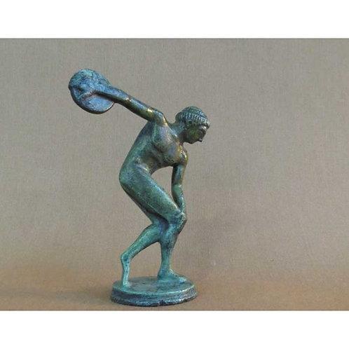 bronze discus-thrower