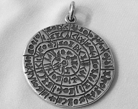 Phaistos Disc pendant (large)
