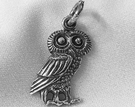 owl standing pendant