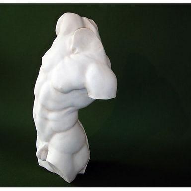 marble Adonis torso