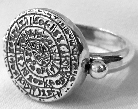Phaistos Disc ring
