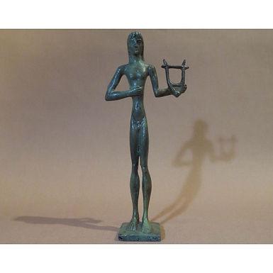 bronze statue: Apollo, god of culture