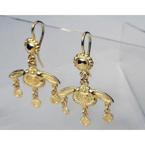 Minoan Malia honeybees earrings