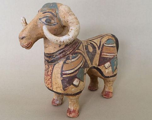 terracotta spirited goat!
