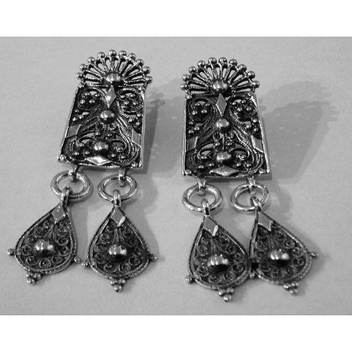 glorious Byzantine style earrings