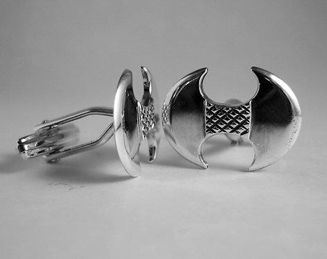 double-axe labrys cufflinks