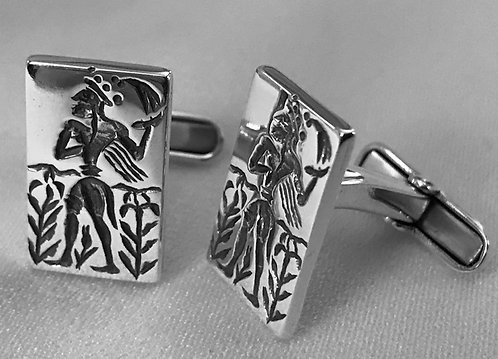 Minoan Prince of Lilies cufflinks