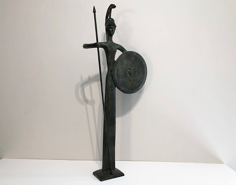 bronze Athena, goddess of intelligence