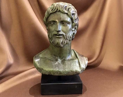 bronze Asklepios, god of medicine