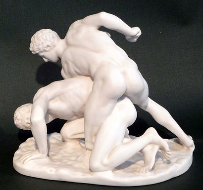 marble Uffizi wrestlers