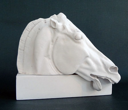 marble horse of Selene from the Parthenon (small)