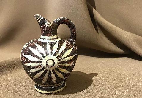 mini Minoan Kamares prochous with rays