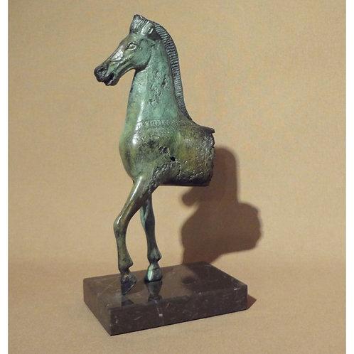 bronze horse front (medium)