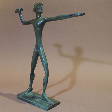 bronze Zeus, protector of the family unit