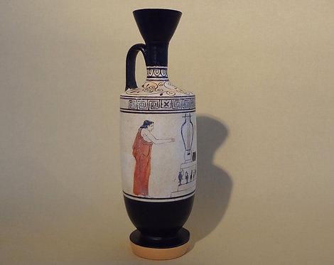 white-ground lekythos: in memory of a musician