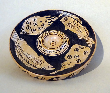 red-figure fish plate