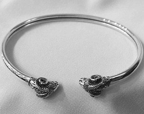 twin ram bracelet