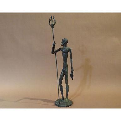 bronze Poseidon with attitude!