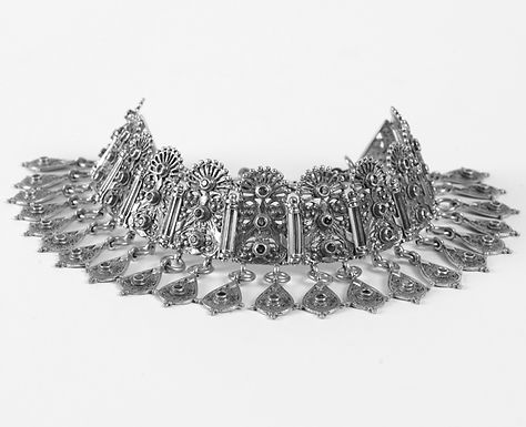 glorious Byzantine style collar necklace