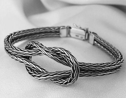 woven loveknot bracelet