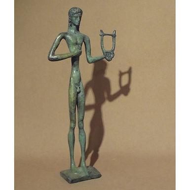 bronze Apollo, god of culture
