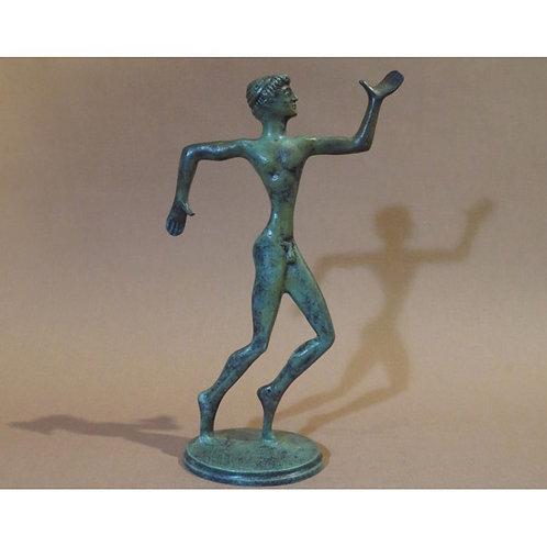bronze runner