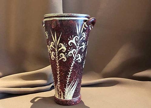 Minoan Kamares amphora with papyrus plants