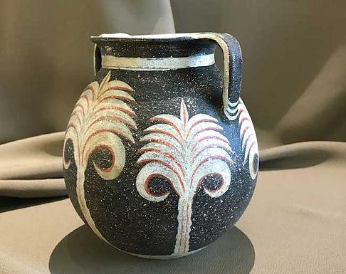 Minoan Kamares amphora with palm motifs