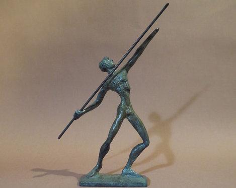 bronze javelin-thrower