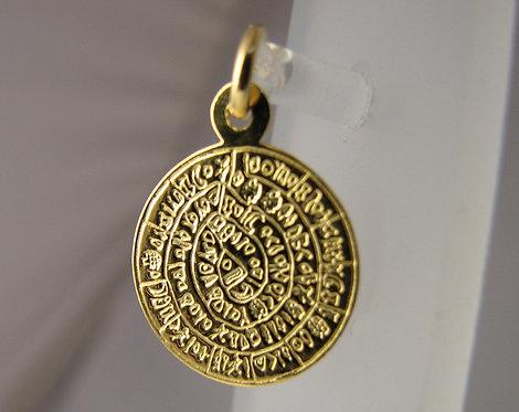 Phaistos Disc pendant (small)