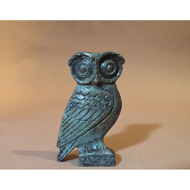 bronze scholarly owl!
